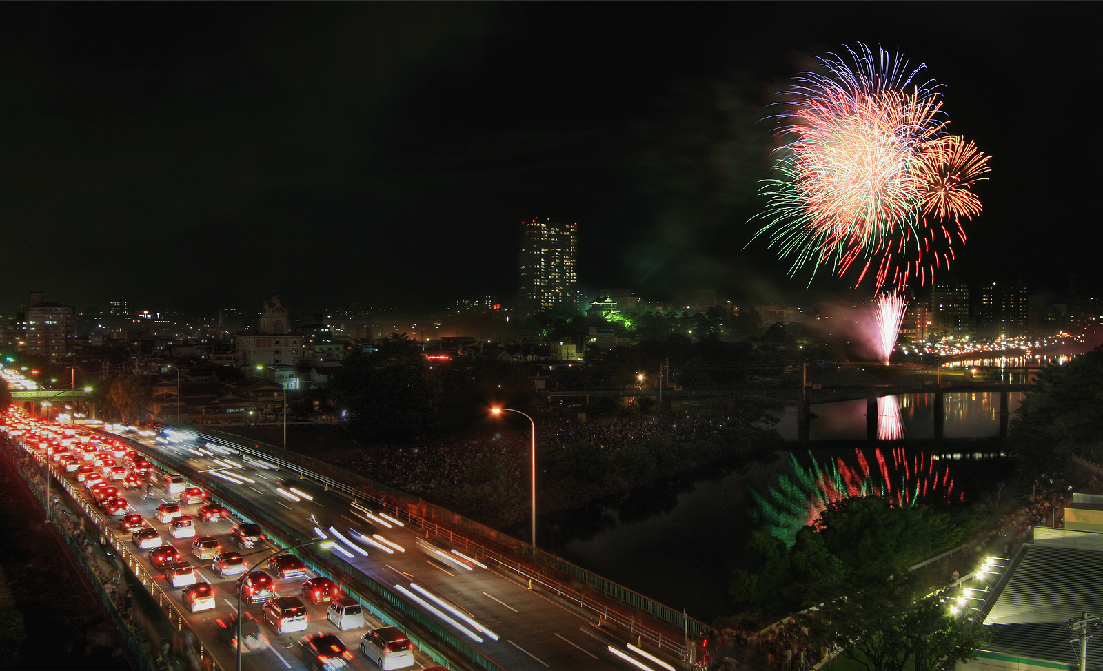 Okazaki Fireworks Festival