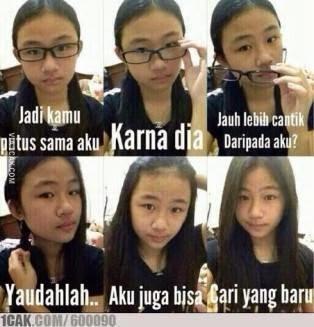 「あの子の方が可愛いから」のインドネシアの元ネタ