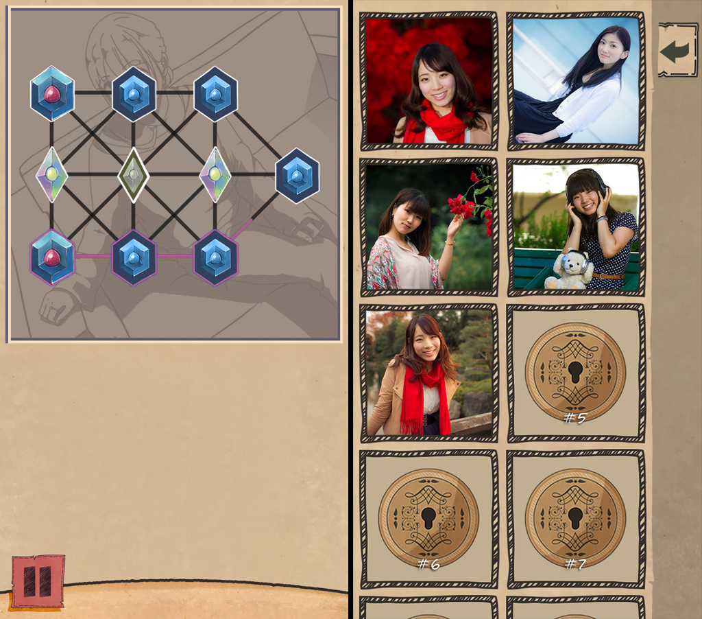 Game Angel Puzzle